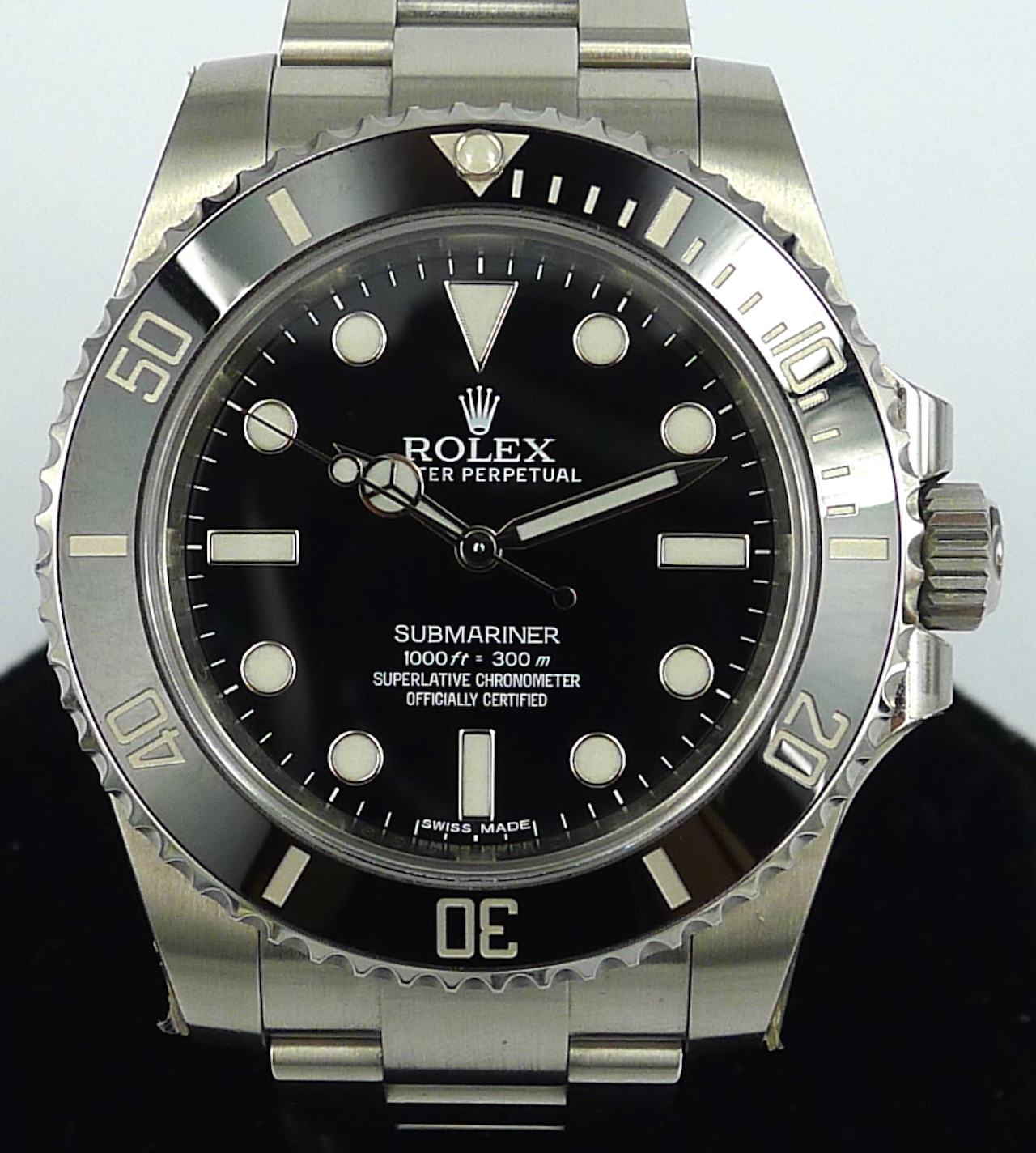 Rolex submariner no date ceramic